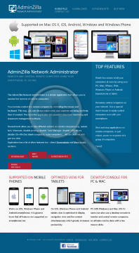 Adminzilla Network Administrator School District License preview. Click for more details