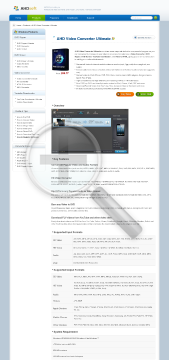 Ahd Video Converter Professional preview. Click for more details