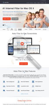Aobo Filter Mac Standard Family License preview. Click for more details
