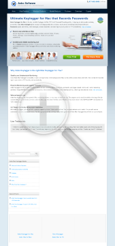 Aobo Mac Keylogger Standard Edition Personal License preview. Click for more details