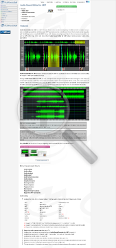 Audio Sound Editor Net Commercial Edition Bundle With Studio preview. Click for more details