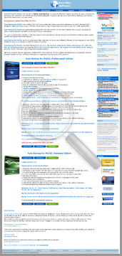 Auto Backup Mysql Professional Edition Commercial License Full Version preview. Click for more details