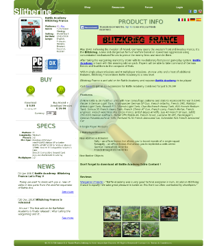 Battle Academy Blitzkrieg France Physical With Free Download preview. Click for more details