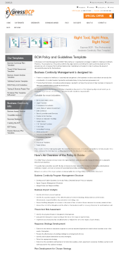 Bcm Guidelines Policy Document Full Version preview. Click for more details