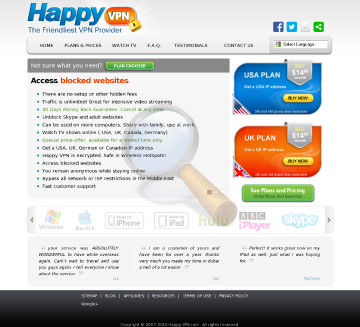 Canadian Happy Vpn Biannual Plan Discounted preview. Click for more details
