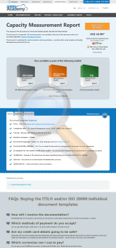 Capacity Measurement Report Standard Version preview. Click for more details