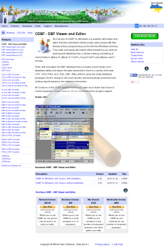 Cdbf Windows Gui Version Personal preview. Click for more details