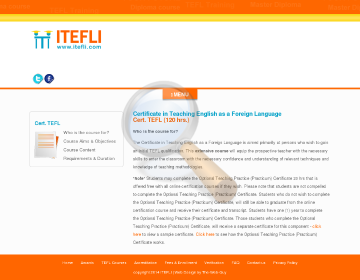 Certificate Tefl Hrs Course preview. Click for more details