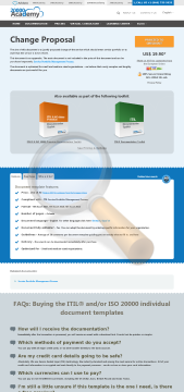 Change Proposal Standard Version preview. Click for more details