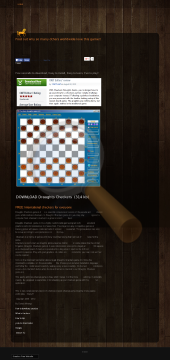 Checkers Draughts Game Full Version preview. Click for more details