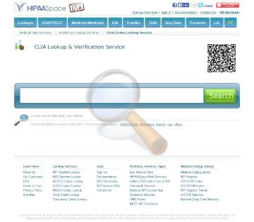 Clia Codes Full Version preview. Click for more details