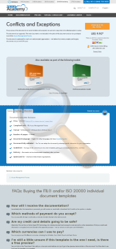 Conflicts Exceptions Standard Version preview. Click for more details