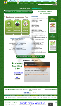 Continuous Improvement Firm Powerpoint File Cif Pro preview. Click for more details