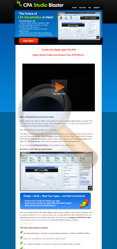 Cpa Studio Blaster Professional Edition Congrats You Save preview. Click for more details