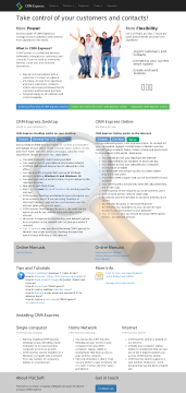 Crm Express Professional User Pack Full Version preview. Click for more details