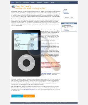 Diskinternals Recovery Ipod Full Version preview. Click for more details
