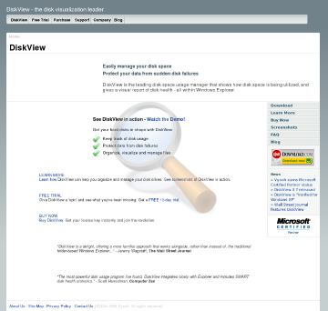 Diskview Professional Edition preview. Click for more details