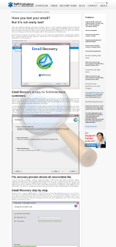 Email Recovery Single User License preview. Click for more details