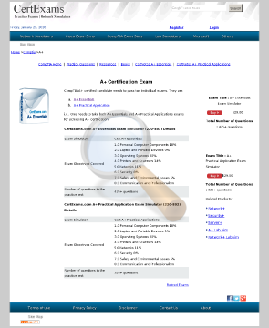 Essentials Online Exams Full Version preview. Click for more details