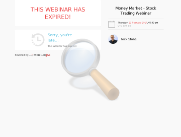Live Day Trading Webinar One Seat Feb Gmt Time preview. Click for more details