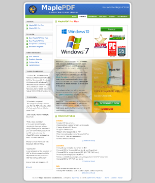 Maplepdf Pro Plus Full Version preview. Click for more details