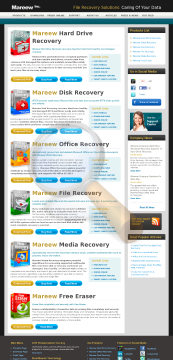 Mareew Media Recovery Professional License preview. Click for more details