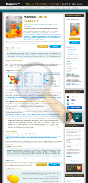 Mareew Office Recovery Professional License preview. Click for more details