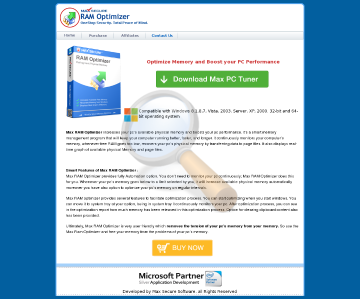 Max Ram Optimizer Full Version preview. Click for more details