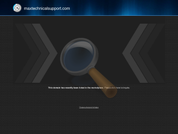 Max Technical Support One Time preview. Click for more details