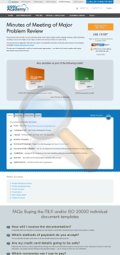 Minutes Meeting Major Problem Review Standard Version preview. Click for more details