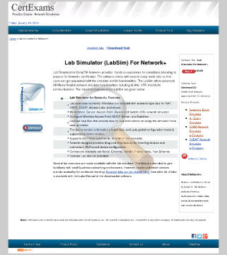 Network Lab Simulator Full Version preview. Click for more details
