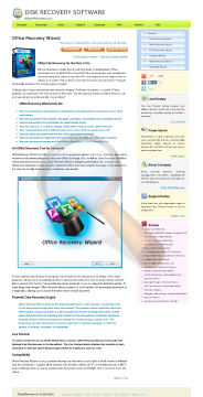 Office Recovery Wizard Professional License preview. Click for more details