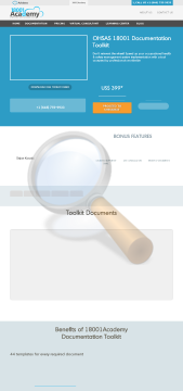 Ohsas Documentation Toolkit English Package With Templates preview. Click for more details
