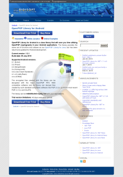 Openpgp Library Android Developer License preview. Click for more details