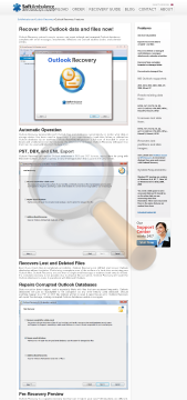Outlook Recovery Single User License preview. Click for more details