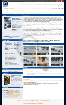 Panzer Command Operation Winter Storm Download preview. Click for more details