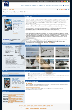 Panzer Command Operation Winter Storm Promo Physical With Free Download preview. Click for more details