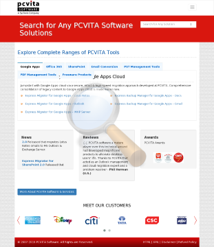 Pcvita Express Migrator Google Apps Outlook Users License preview. Click for more details