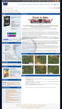 Pike Shot Tercio Salvo Physical With Free Download preview. Click for more details