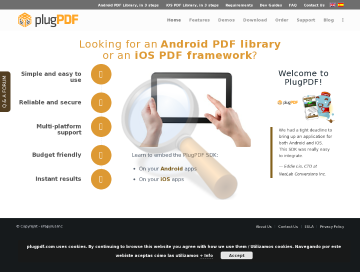 Plugpdf Sdk Ios Android Mobile preview. Click for more details
