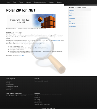 Polar Zip Net License preview. Click for more details