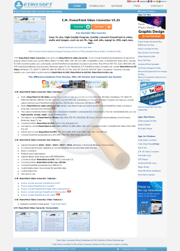 Powerpoint Video Converter Version Commercial Use preview. Click for more details