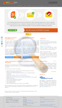 Pptswf Converter Multi User License preview. Click for more details