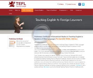 Preliminary Certificate Tesol Course preview. Click for more details