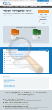 Problem Management Policy Standard Version preview. Click for more details