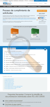 Proceso Cumplimiento Solicitudes Standard Version preview. Click for more details