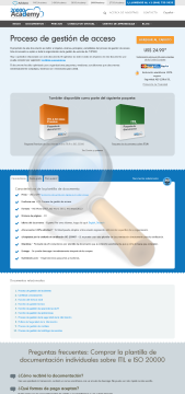 Proceso Gesti Acceso Standard Version preview. Click for more details