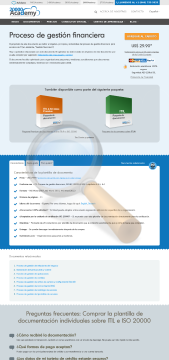Proceso Gesti Financiera Standard Version preview. Click for more details