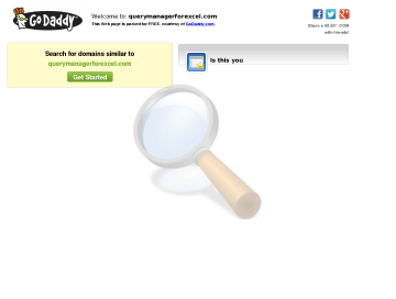 Query Manager Excel Full Version preview. Click for more details