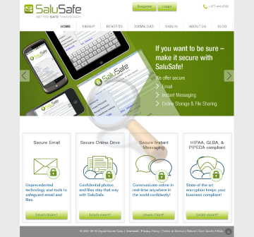 Salusafe Personal Member License preview. Click for more details